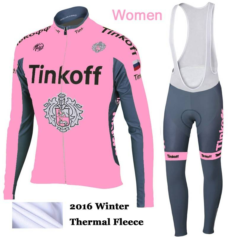 Mujer Ciclismo Termica Invierno Ropa Tinkoff w4TqEzwv