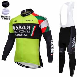 EUSKADI BASQUE COUNTRY 2018 EQUIPACION CICLISMO LARGA DE INVIERNO TERMICA
