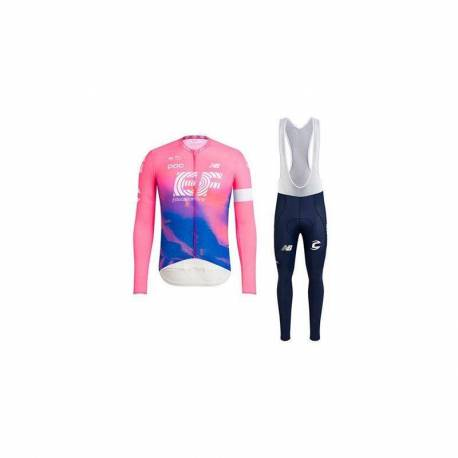 EDUCATION FIRST 2020 EQUIPACION CICLISMO LARGA DE INVIERNO TERMICA